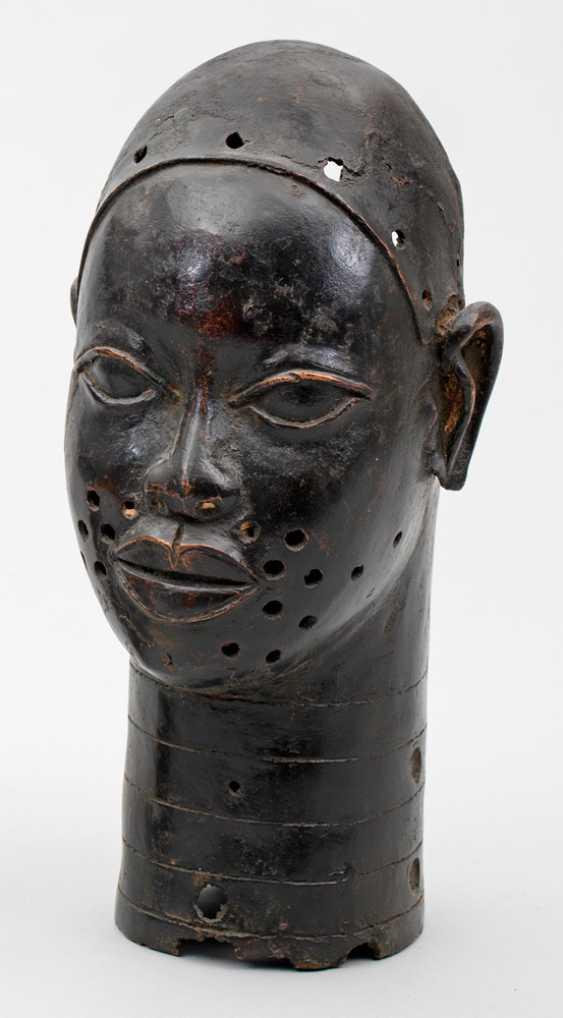 African head sculpture of Olokun - photo 1