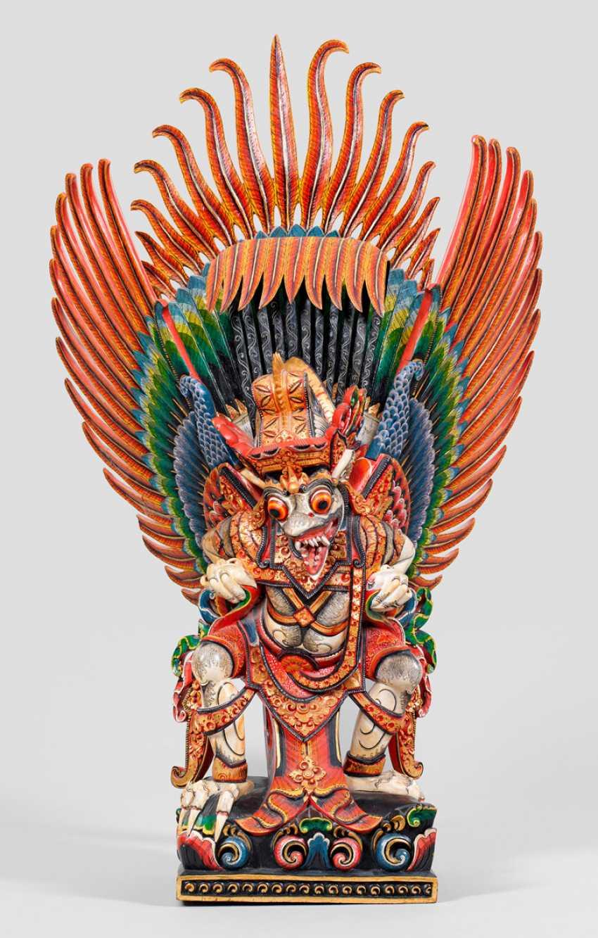 Sculpture of the divine bird Garuda - photo 1