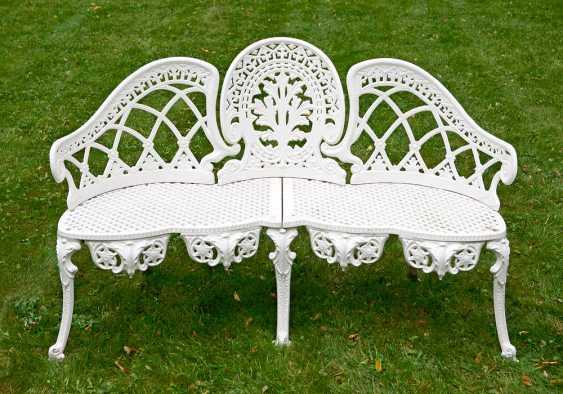 Victorian Garden Bench - photo 1
