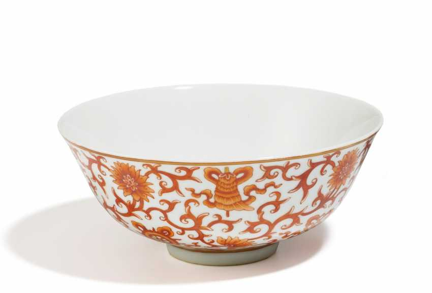 Bowl with bats and the Eight Buddhist treasures - photo 1