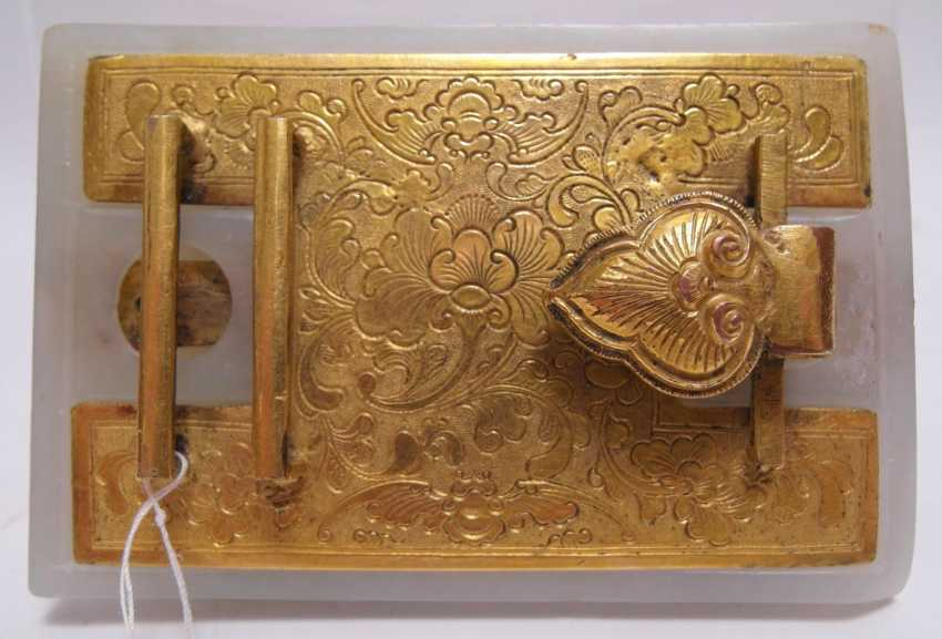 Belt buckle with dragon - photo 2