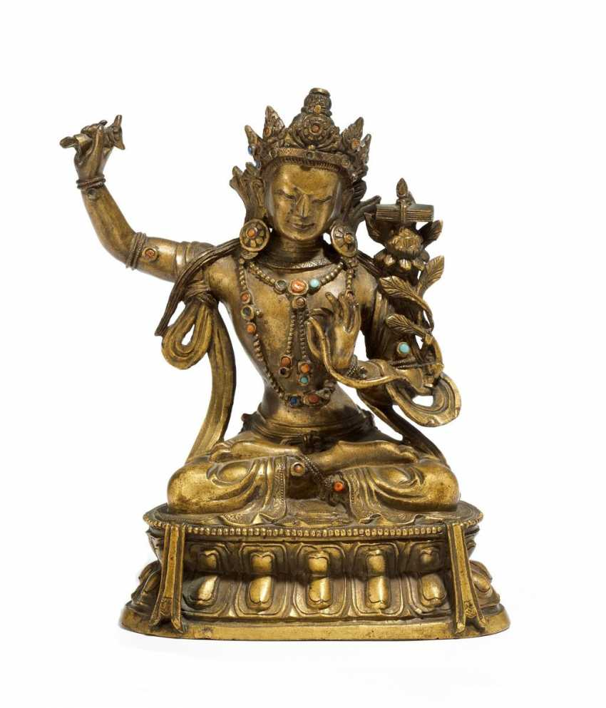 Significant Manjushri Bodhisattva - photo 1