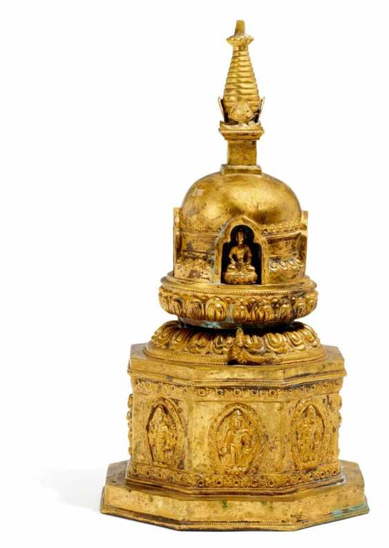 Great Stupa, with separate figures - photo 1