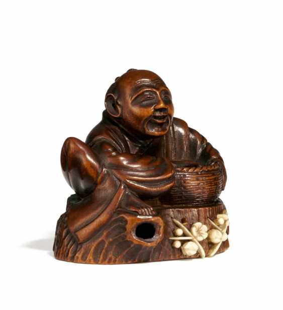 Netsuke: Hanasaka Jiji - photo 1