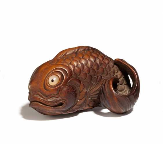 Netsuke: Karpfen - photo 1