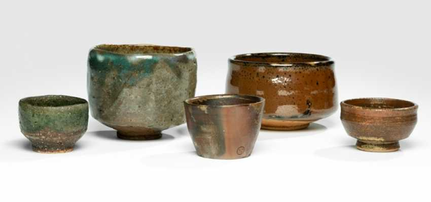 Five ceramics by various artists - photo 1