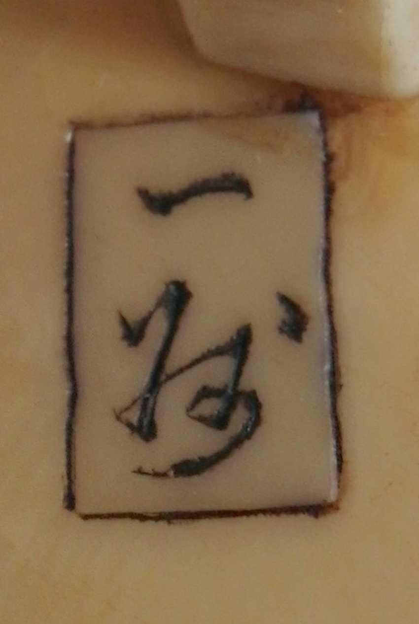 Zwei netsuke - photo 4