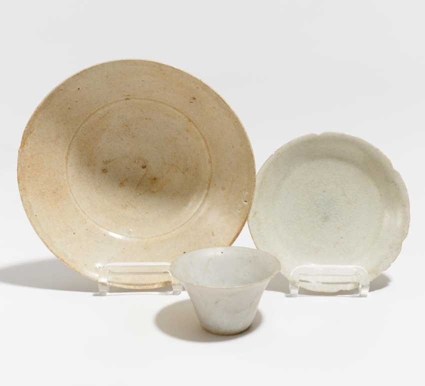 Small cups and two bowls - photo 1