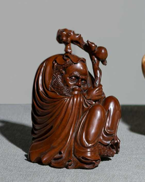 Boxwood carving Li Tieguai - photo 1