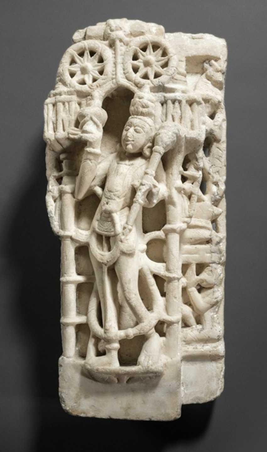 Fragment aus Alabaster - photo 1