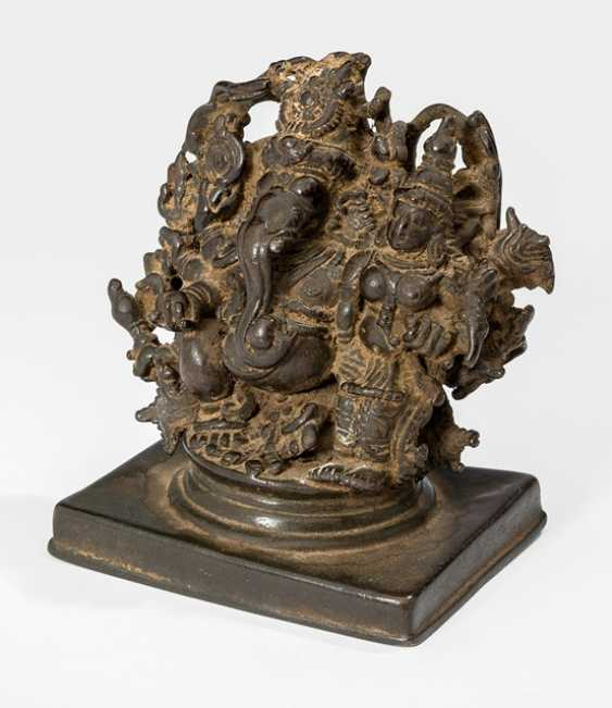 Bronze of Ganesha - photo 1