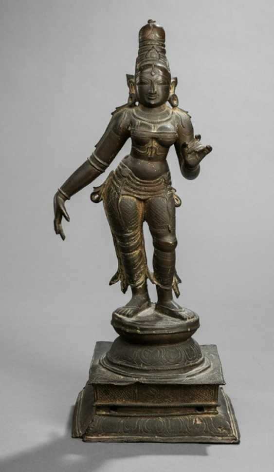 Bronze of the Bhu on a Stand - photo 1