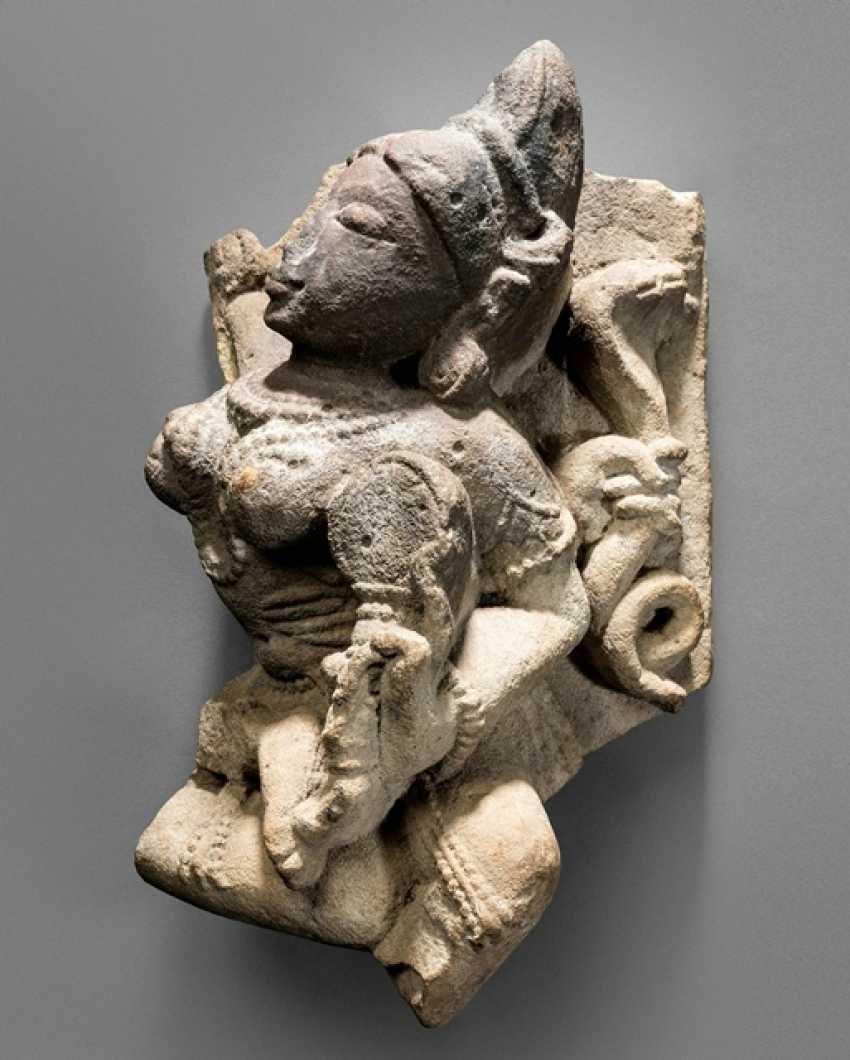 Stone figure of Parvati - photo 1