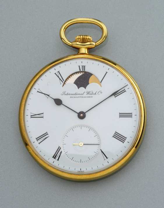 Defective IWC pocket watch with moon phase - photo 1