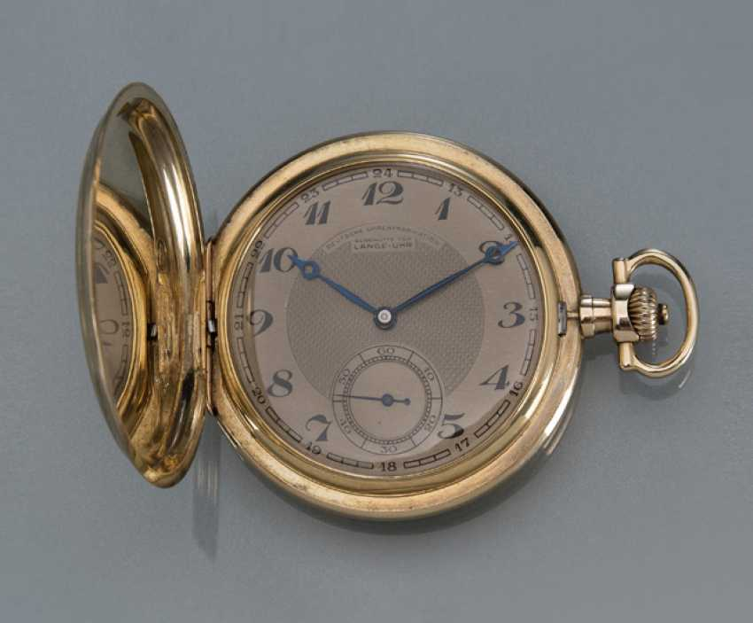 A. Lange & Söhne pocket watch from 14KT Gold - photo 1