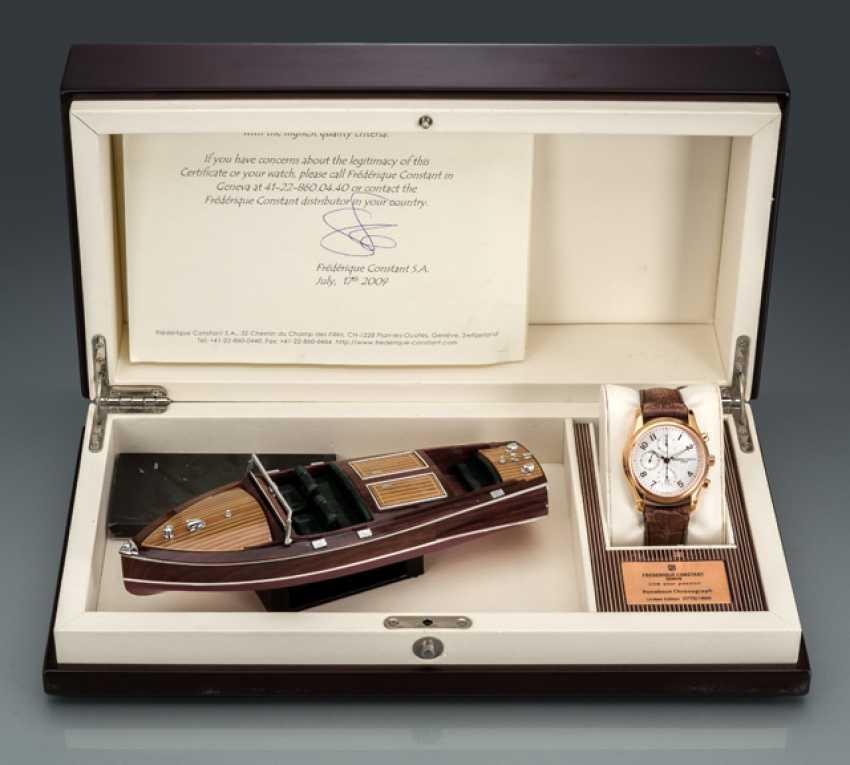 Frederique Constant Runabout Chronograph, Ref. FC-392RM6B4, limitiert 0775/1888 - photo 1