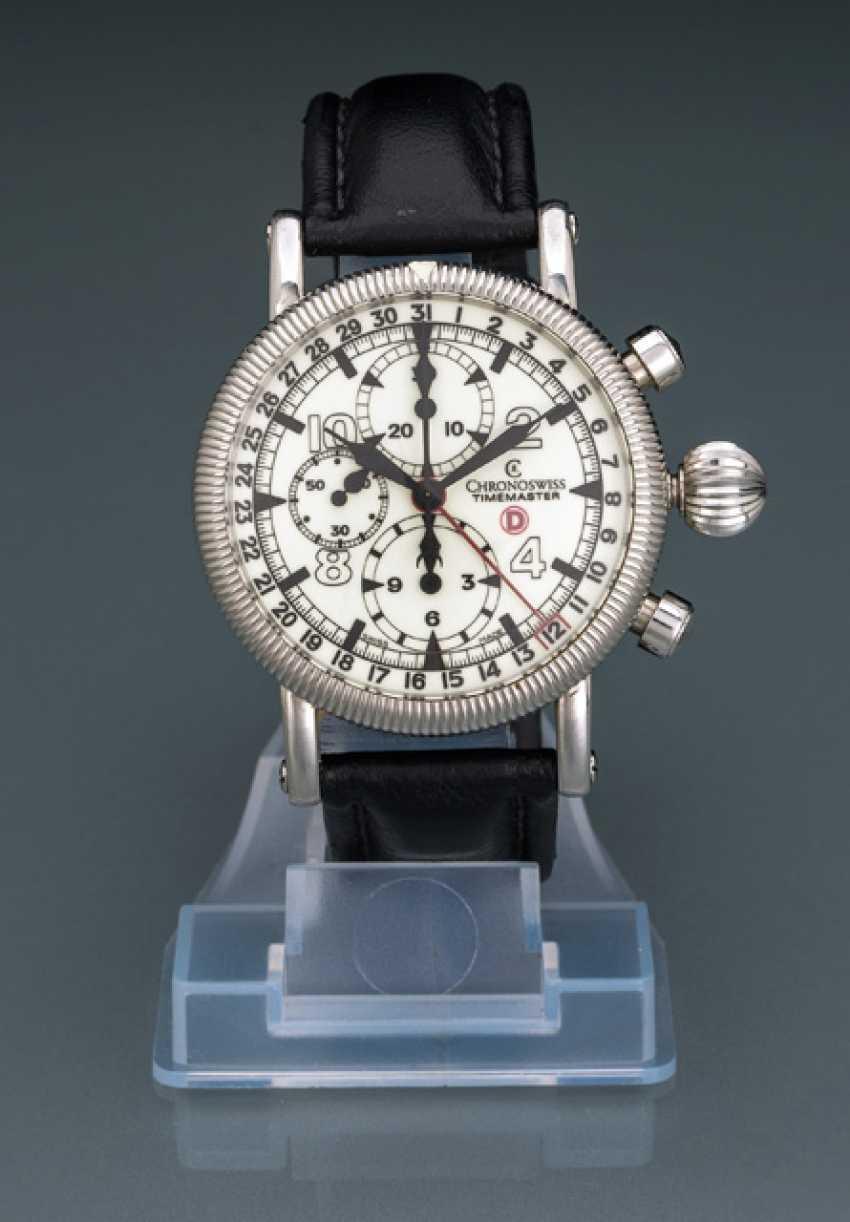 Chronoswiss Timemaster GMT Chronograph, Ref. CH 7533 D LU - photo 1