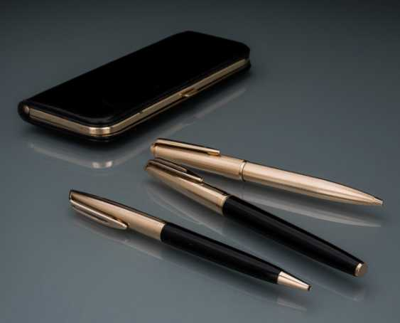 Waterman Vintage pen set with pen and 2 pens, 18K Gold - photo 1