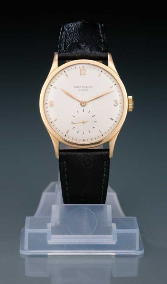Patek Philippe's Calatrava in rose gold, Ref. 570 R with two-tone dial - photo 1