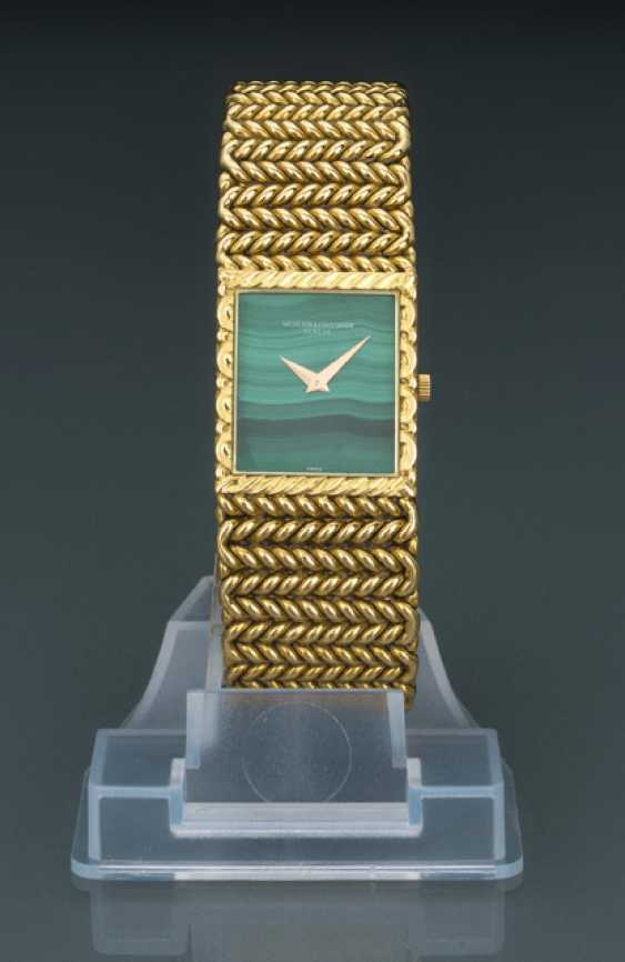 Vacheron Constantin men's watch with malachite dial, Ref. 33030/225 - photo 1