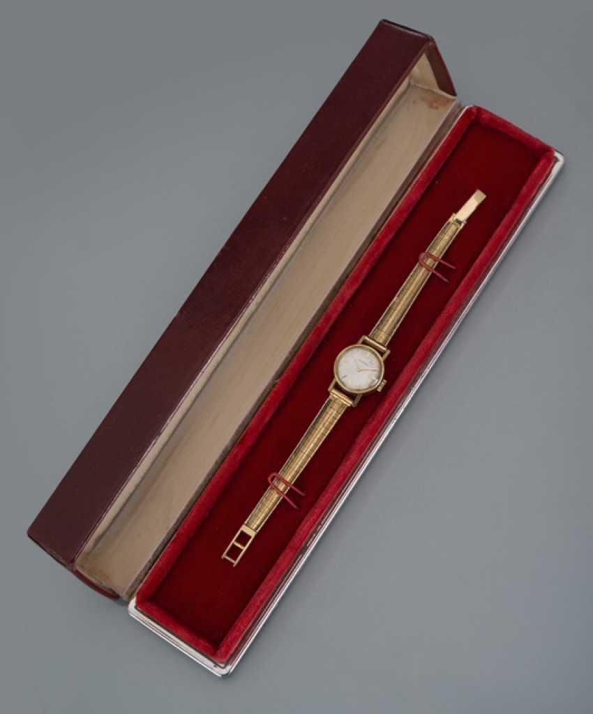 Longines Vintage women's watch, 18K yellow gold - photo 1