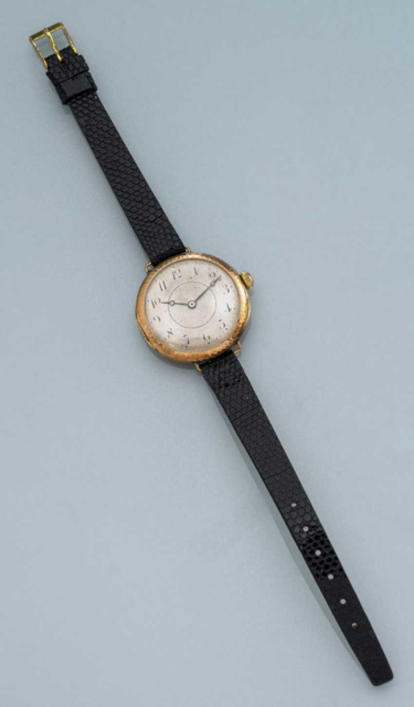 Early ladies watch in 14K yellow gold - photo 1