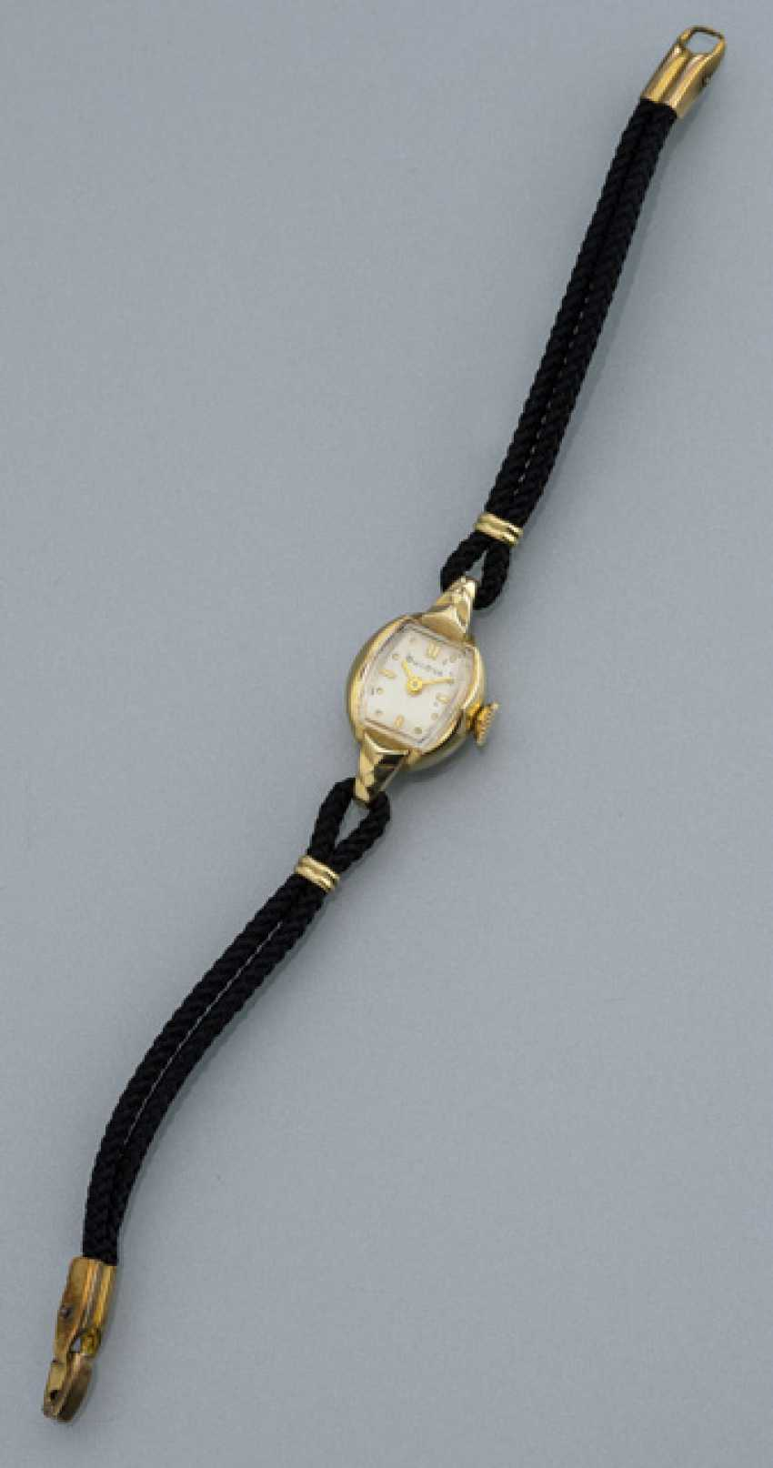 Small Bulova ladies watch 14K Gold - photo 1