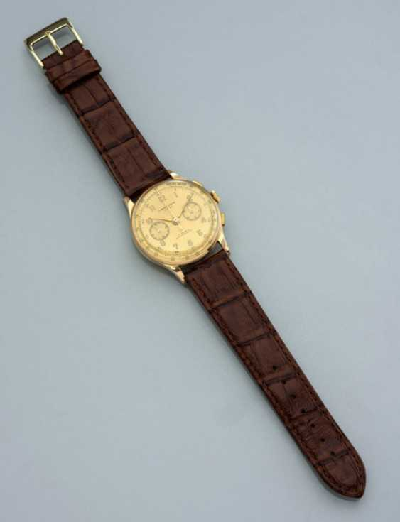 Chronographe Suisse, 18K Gelbgold - photo 1