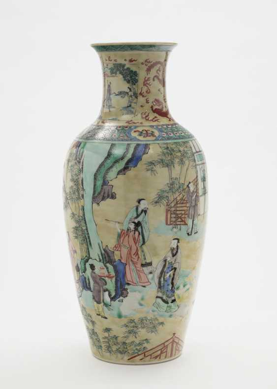 Vase. China, 19./20. Century - photo 1