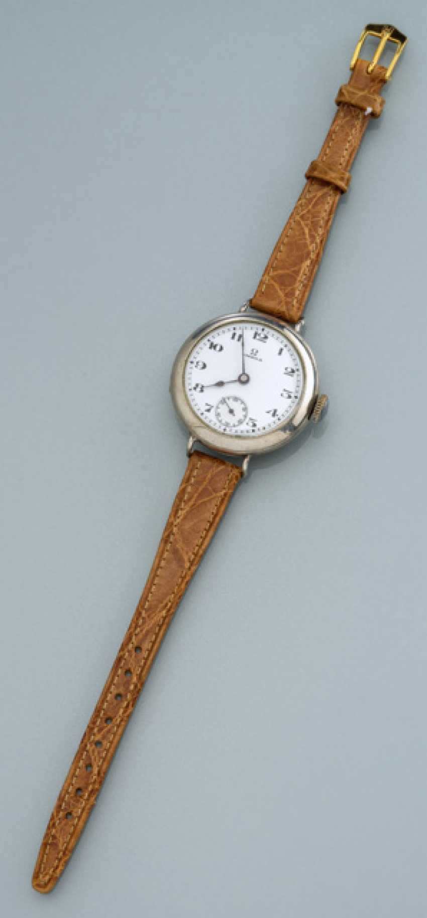 Early Omega Email Officer Wrist Watch - photo 1