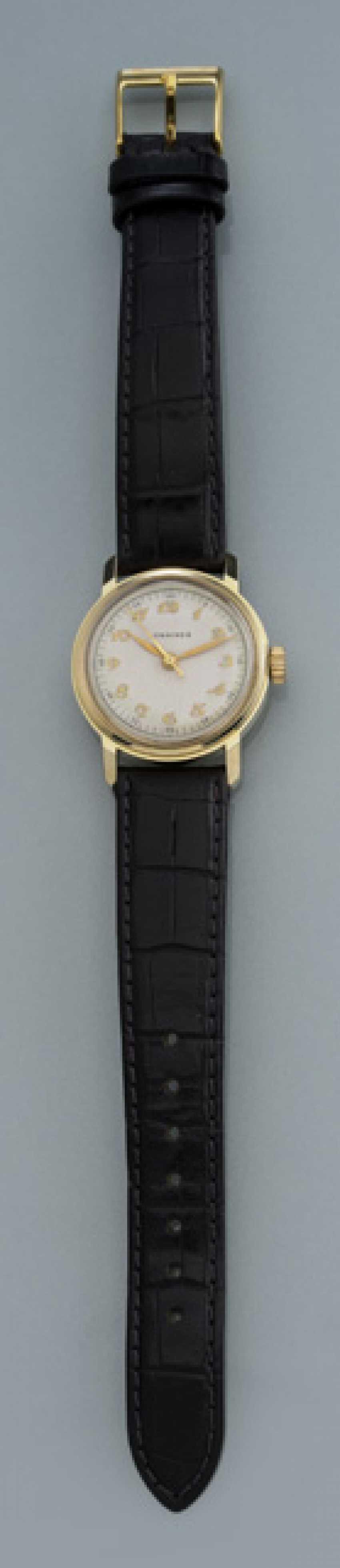"Longines ""Calatrava"" wristwatch with Breguet numerals made of 10K Gold - photo 1"