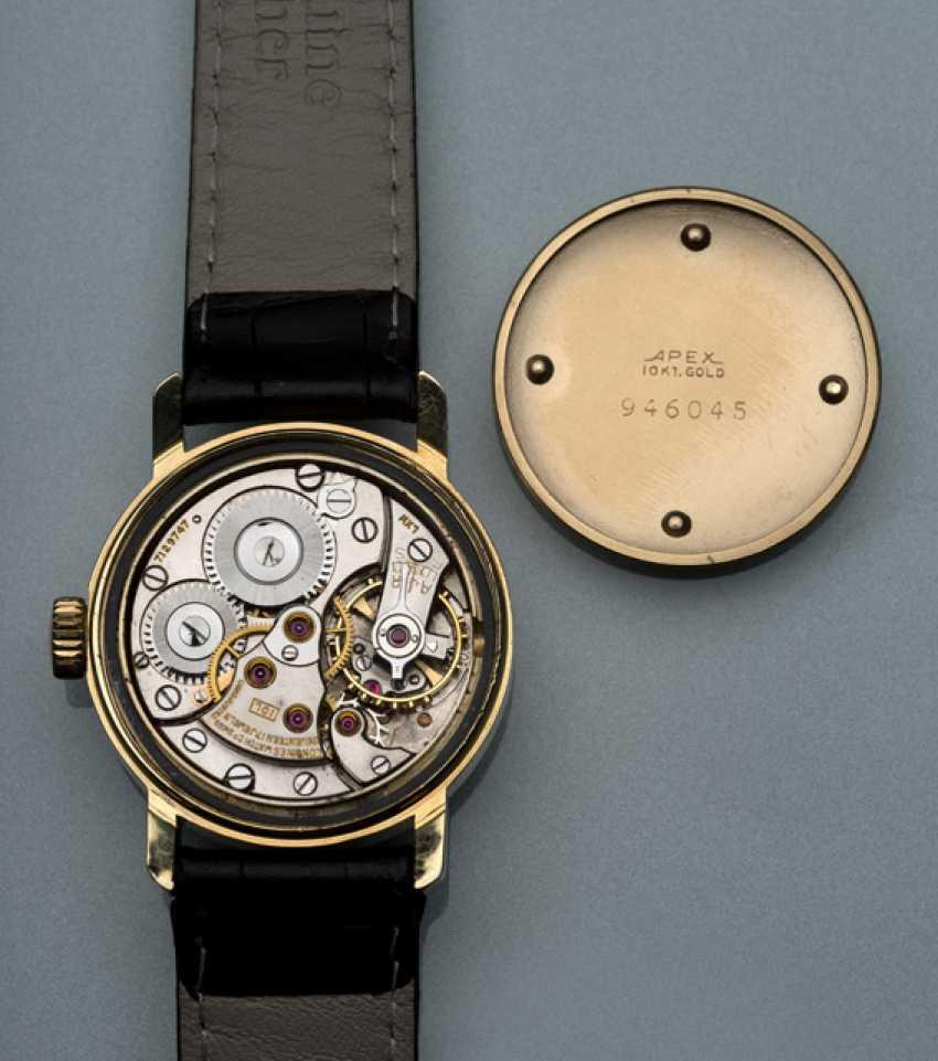 "Longines ""Calatrava"" wristwatch with Breguet numerals made of 10K Gold - photo 2"