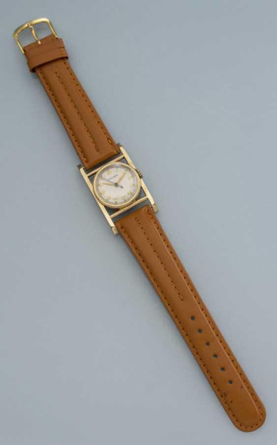 Longines unusual wrist watch 10K Gold - photo 1