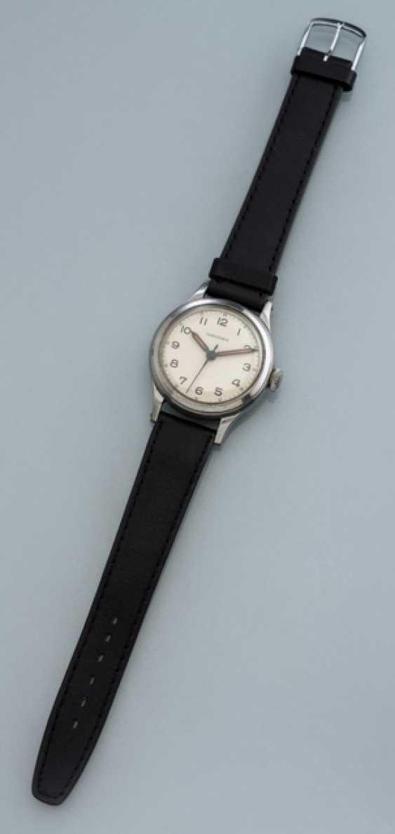 Longines Calatrava-style Armbanduhr aus Stahl, Ref. 241 - photo 1