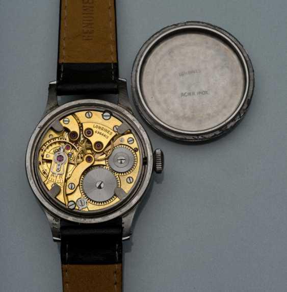 Longines Calatrava-style Armbanduhr aus Stahl, Ref. 241 - photo 2