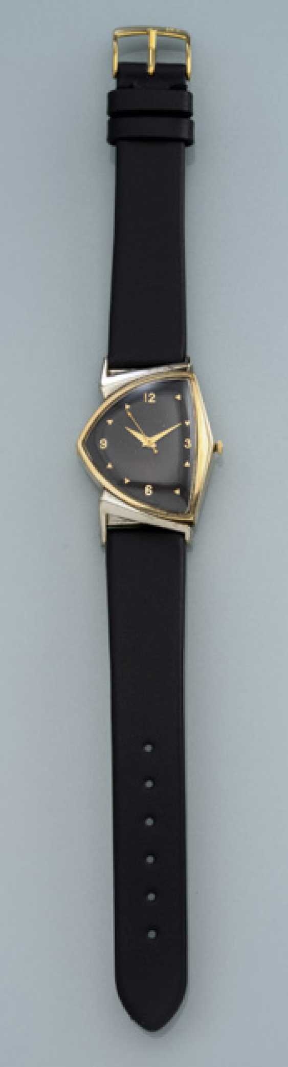 Hamilton Electric Pacer watch is made of 10K yellow gold - photo 1