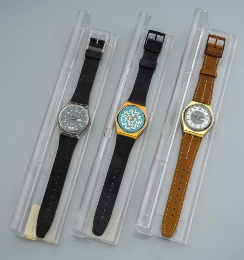 Set of three SWATCH watches - photo 1