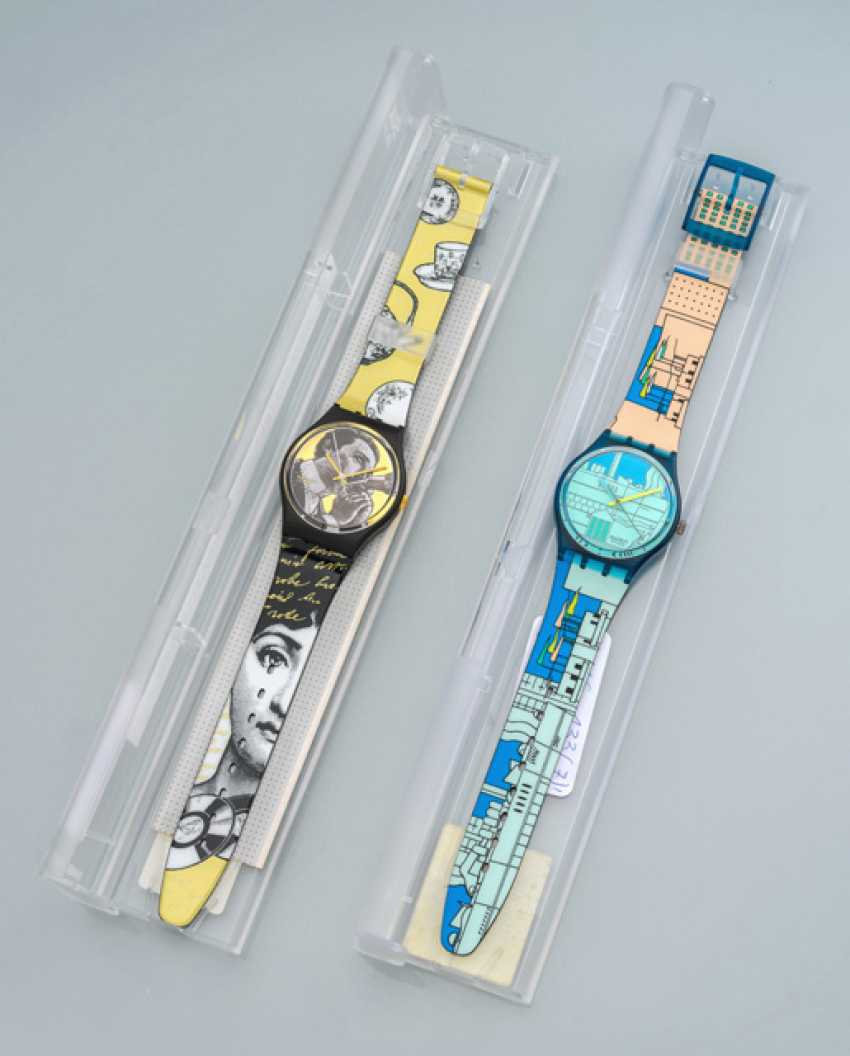 Set of two SWATCH watches - photo 1