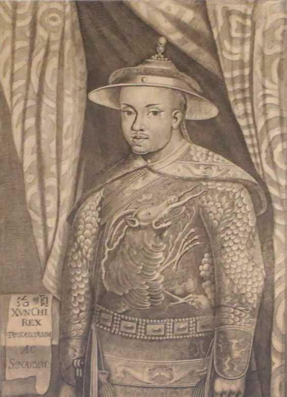 Etching of a dignitary - photo 1