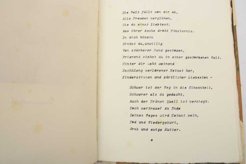 Hermann Hesse Gedichte Originalmanuskript Mit Aquarellen