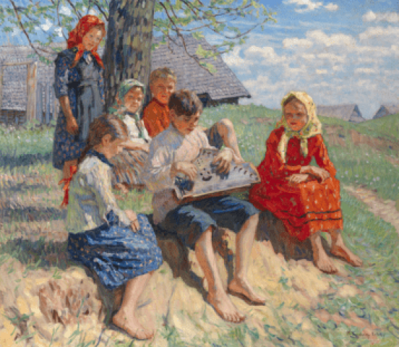 BOGDANOV-BELSKY, NIKOLAI (1868-1945) - photo 1