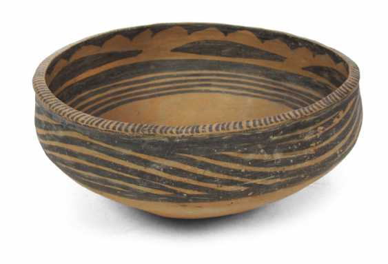 Painted Clay Bowl - photo 1