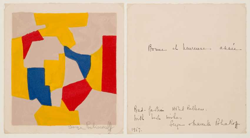 SERGE POLIAKOFF 1900 Moskau - 1969 Paris - photo 1