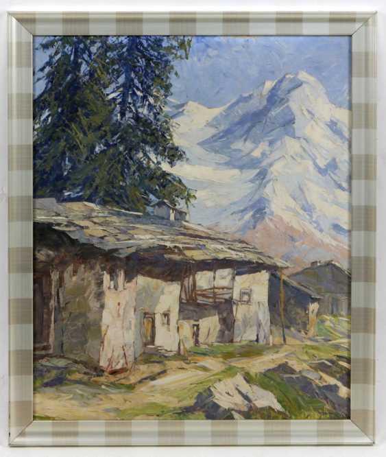 Alpine Painting Münnich, Heinz - photo 1