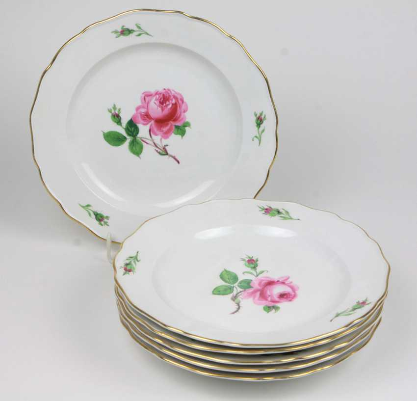 Place Setting Thomas Porcelain Manufactory Cup Um 1920 Hand Painted Antiques Periods & Styles