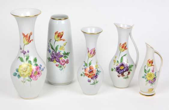 5 Hand Painting Vases - photo 1