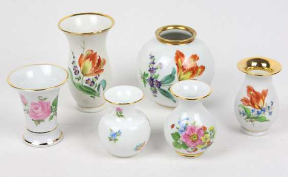 6 Hand Painting Vases - photo 1