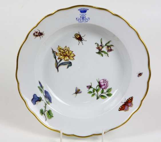Meissen in the region of the monogram plate to 1840 - photo 1