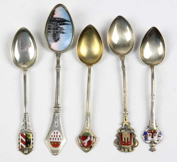 5 Souvenir Spoon Silver - photo 1