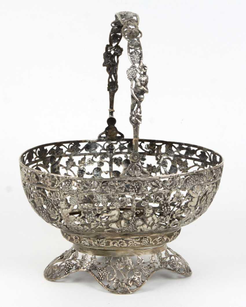 Handle Bowl Silver 800 - photo 1